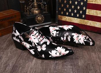 Brand Men Dress Shoes Hot Sale 100% Genuine Leather Shoes for Man Business Men Shoes,Fashion Men Oxford Plus size 44