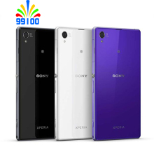 Sony Xperia Z1 C6903 5,0 ''2 Гб RAM+ 16 Гб ROM Quad Core сотовый телефон Восстановленное