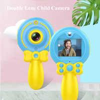 2019 New Digital HD 1080P I Bambini Fotocamera A Doppia Lente Multiuso del Fumetto Macchina Fotografica delle Bacchetta Magica per I Bambini per il Bambino regalo di compleanno