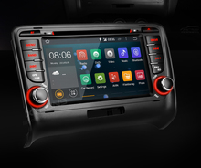 7″ HD Android 4.4 Car DVD Player With Screen Mirroring Function & OBD2 For Audi TT 1080P Video WiFi CANbus Car GPS Navigator