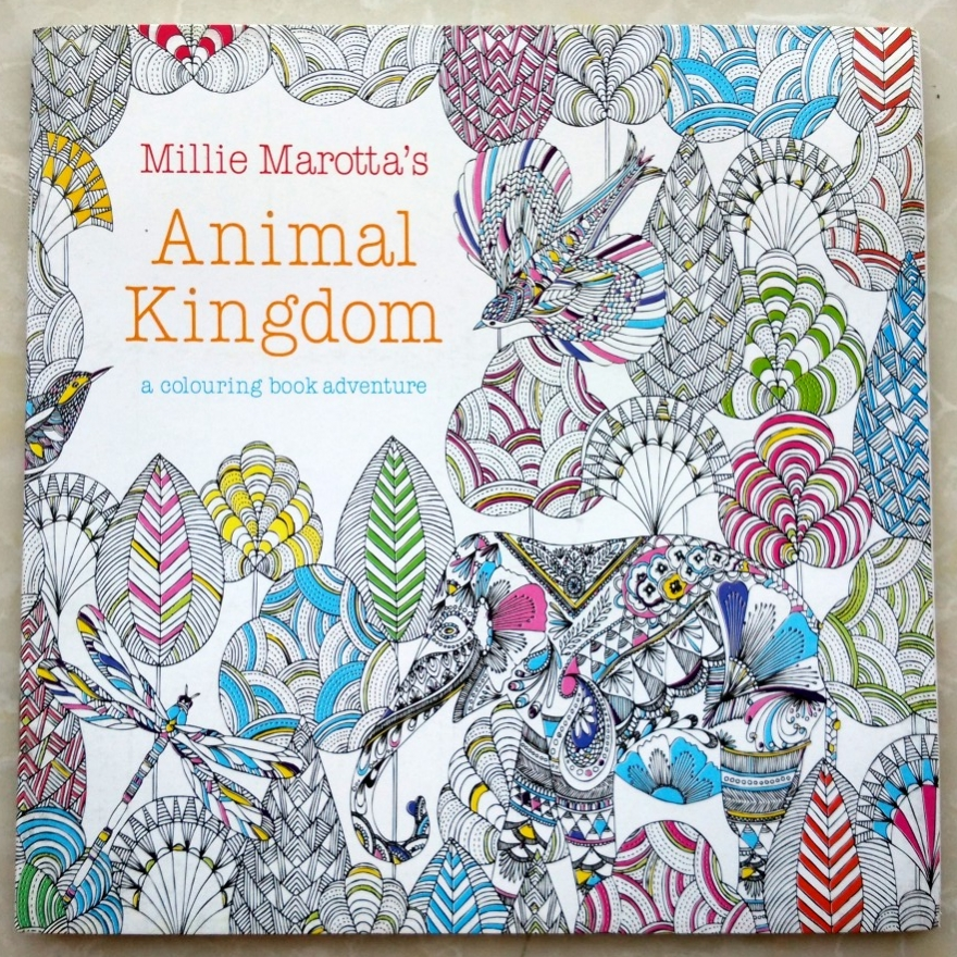 Animal Kingdom Colouring Book Kmart Animal Kingdom