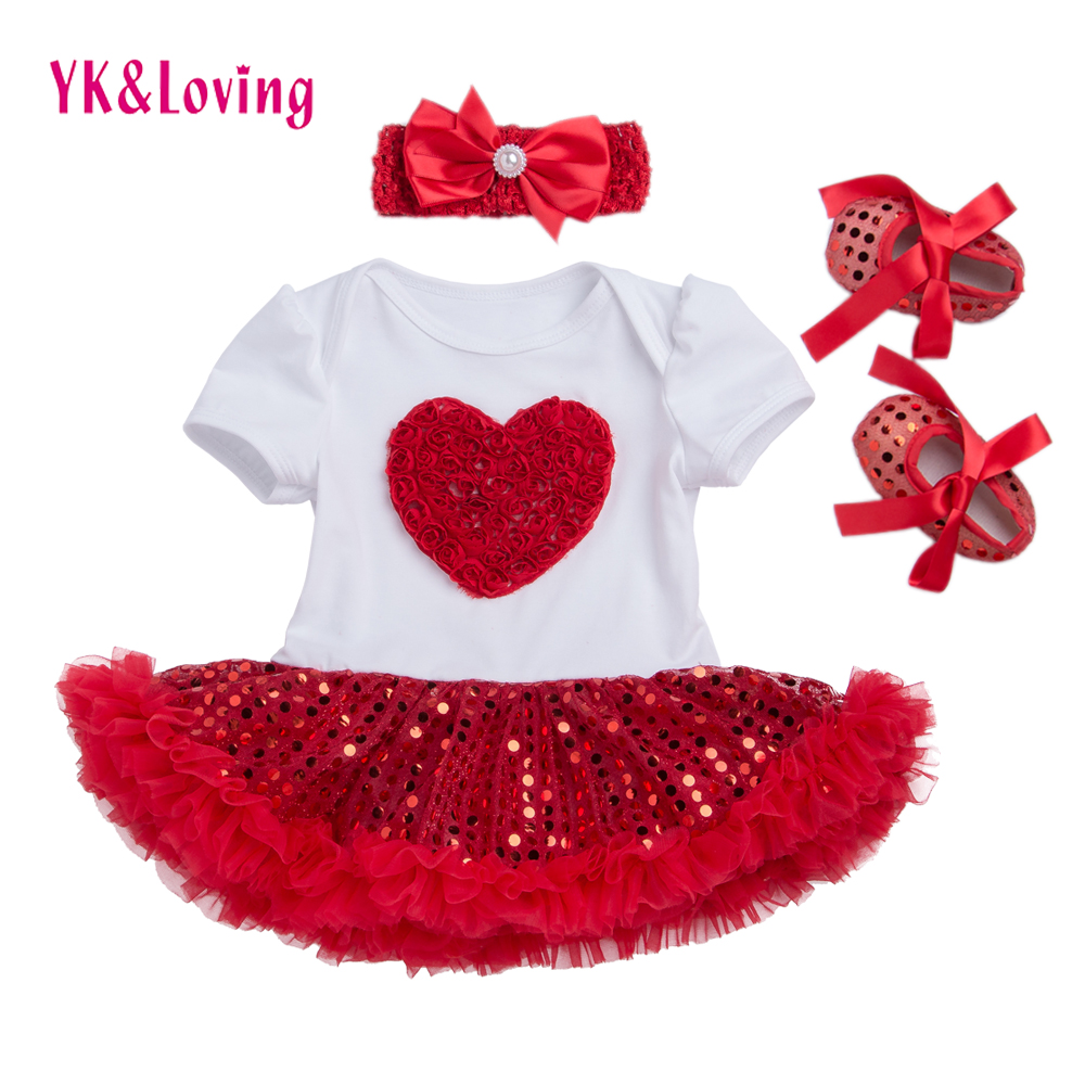 Summer Girl Dress Sequin Short Sleeve Tutu Dresses Newborn Girl Clothes Set Lovely Beautiful Princess Clothing for Kids Z433 lovely toddler kids baby girl summer dress bunny ear short sleeve hooded outfit one pieces princess children dresses sundress