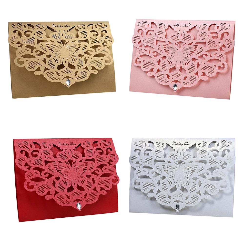 50pcs luxurious wedding decoration supplies china white red laser 50pcs luxurious wedding decoration supplies china white red laser cut wedding invitations elegant wedding invitation cards in cards invitations from home junglespirit Choice Image