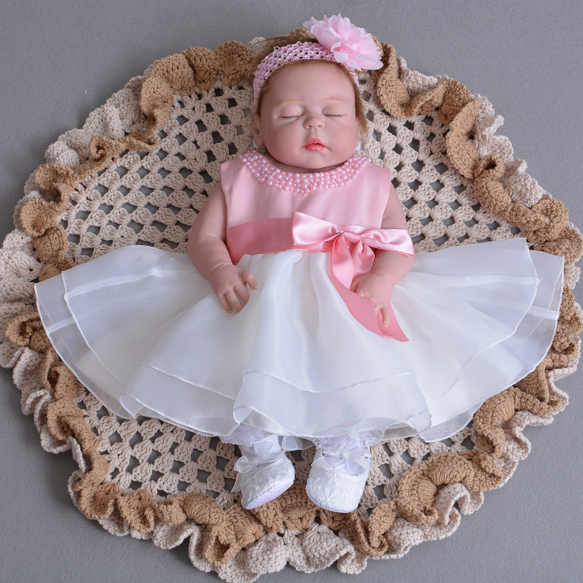 Baby Girls Butterfly Bolero Jacket Dress Christening Baptism Wedding Dresses