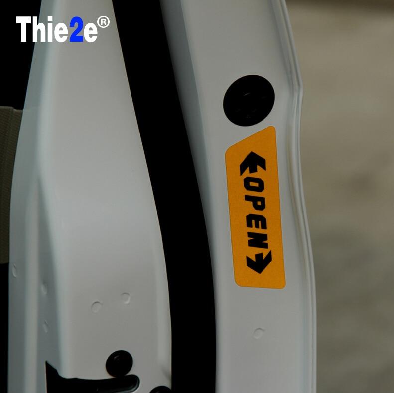 OPEN car styling warning car stickers for Toyota wish mark x supra gt86 4runner avensis Camry RAV4 Prado Corolla YARIS & Toyota Supra Doors Promotion-Shop for Promotional Toyota Supra ... Pezcame.Com