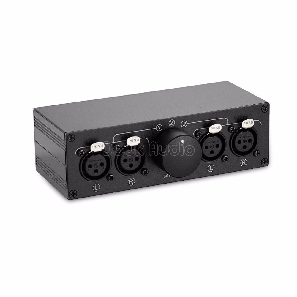 Music hall 2018 NEW Little Bear MC103 3 1 IN 1 3 OUT XLR Balance Stereo