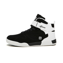 Outdoor Flat Casual Shoes Men High-top Skateboarding Shoes Sneakers 39-46 Large Size LightWeight Flat Black and White Shoes цены онлайн