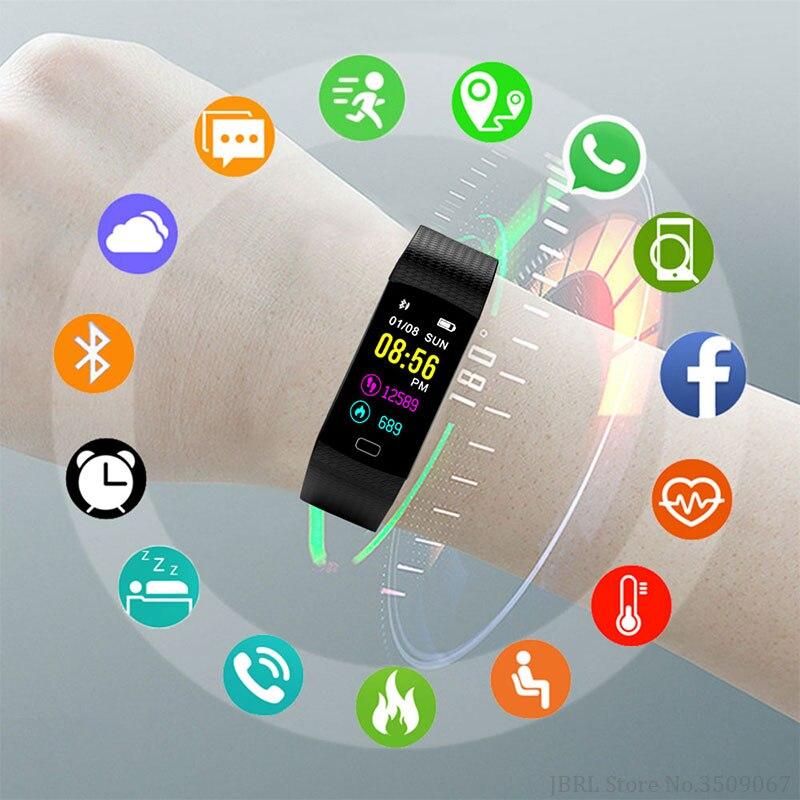 Sport Bracelet Student Bracelet Smart Watch Children Watches Kids For Girls Boys Electronic Wristwatch Digital Child Wrist Clock