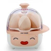Tonze Portable Mini Egg Boiler for 5pcs Eggs Auto Power Off Mini Cooker Midium Rare Full Boiled Mini Steamer Egg Custard