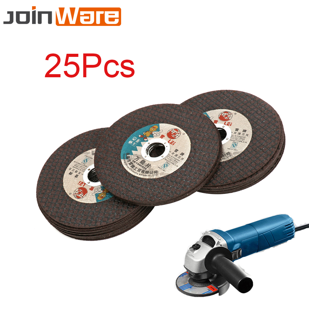 25Pcs 105MM 4 Ultrathin Resin Cutting Wheel Grinding Disc For Stainless Steel Iron Metal Angle Grinder Rotary Tools 16MM Bore 100 resin grinding wheel piece metal cutting type angle grinder using