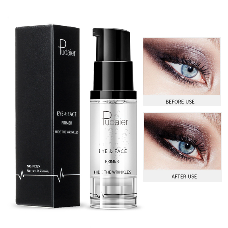 Pudaier eyeshadow primer gel 8ml moisturizing eye makeup cream waterproof long lasting nutritious face primer oil control PD016 image