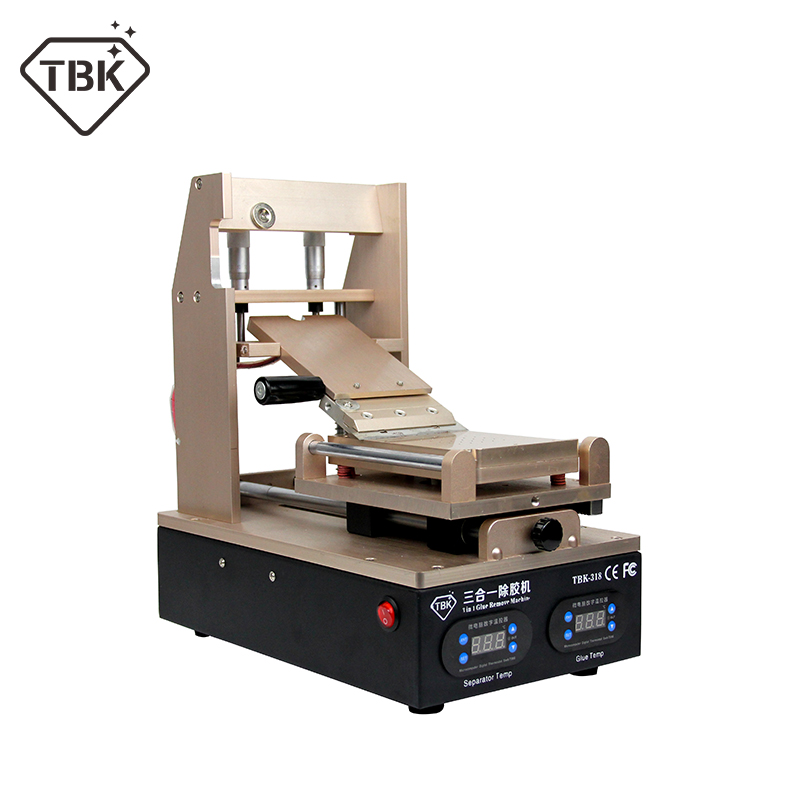 NEW TBK 318 3 in 1 Vacuum LCD Screen Separator Preheater OCA Glue Polarizer RemoverMobile Phone