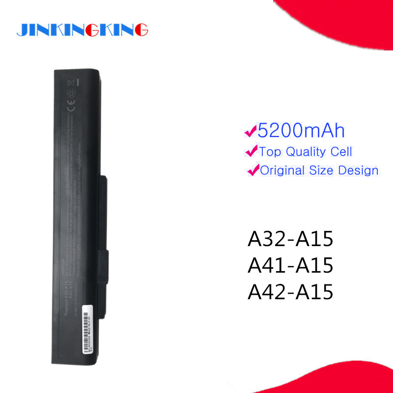 NEW Laptop Battery A41-A15 A42-A15 for <font><b>msi</b></font> CR640DX CR640MX CR640X CX640 <font><b>CX640DX</b></font> CX640MX CX640X for Akoya E6201 E6221 E6222 image