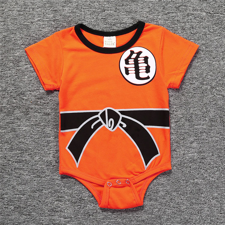Dragon Ball Baby Rompers Newborn Baby Boys Clothes SON GOKU Toddler Jumpsuit Bebes Halloween Costumes For Baby Boy Girl Clothing | Happy Baby Mama