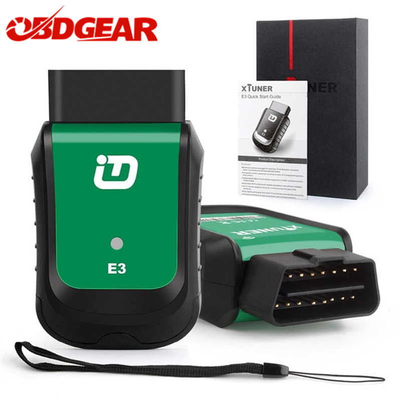 XTUNER E3 Wifi Full System Auto Car Diagnostic Tool OBD2 Diag/Exp/Main Service Battery DPF Reset Better than Vpecker Car Scanner original new launch m diag read dtc s clear dtc s full system diagnostic tool m diag repair tool for car shop and car owner
