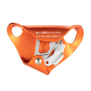 Image 2 - 4KN Aluminum Alloy Chest Ascender for 8mm 13mm Rope Rock Rappelling Climbing Caving Smooth Rescue Gear Equipment Ascent By CE