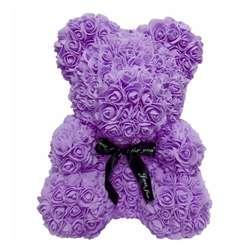 Имитация мыла розы цветок цветочный мультфильм Медведь ароматизированный для купания эссенция масла мыло Бумага Креативный Новый год в