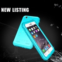Fashion For Iphone 7 Cover Waterproof 360 Full Protection For Iphone 7 Plus Case Protect All