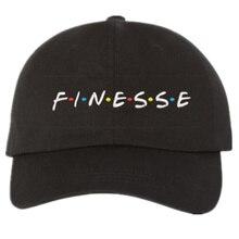 2017 new FINESSE Hat slide buckle fashion style vintage art dad cap seasons caps meme man