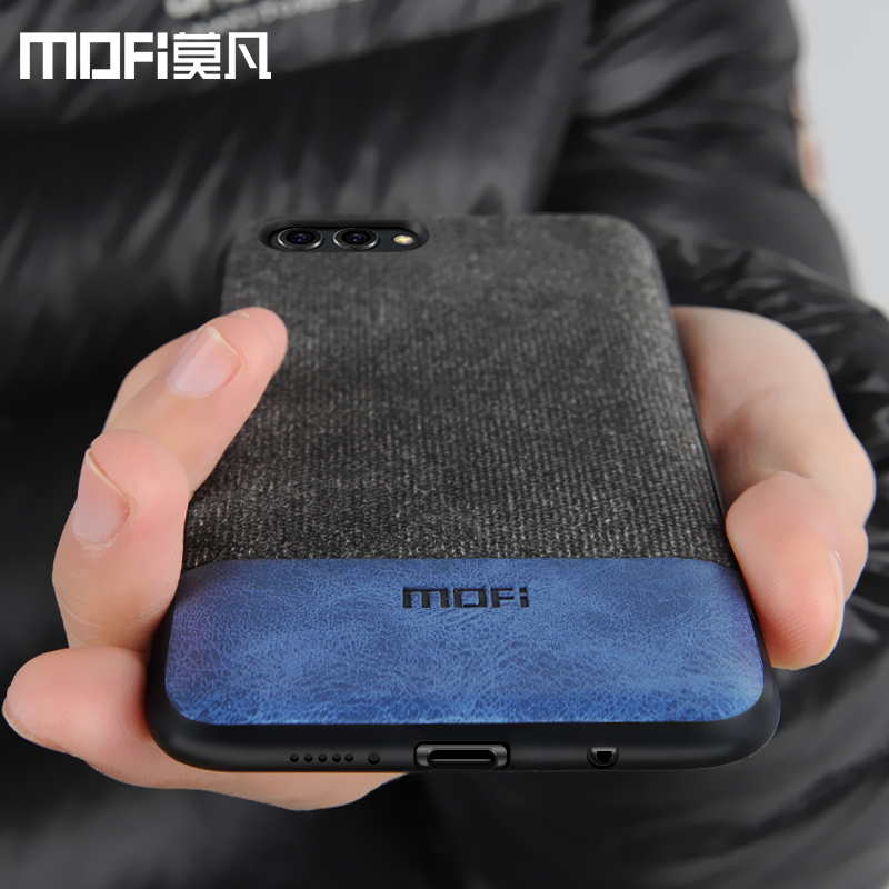 Huawei honor v10 case cover view 10 back cover silicone edge men business shockproof case coque MOFi original honor v10 case
