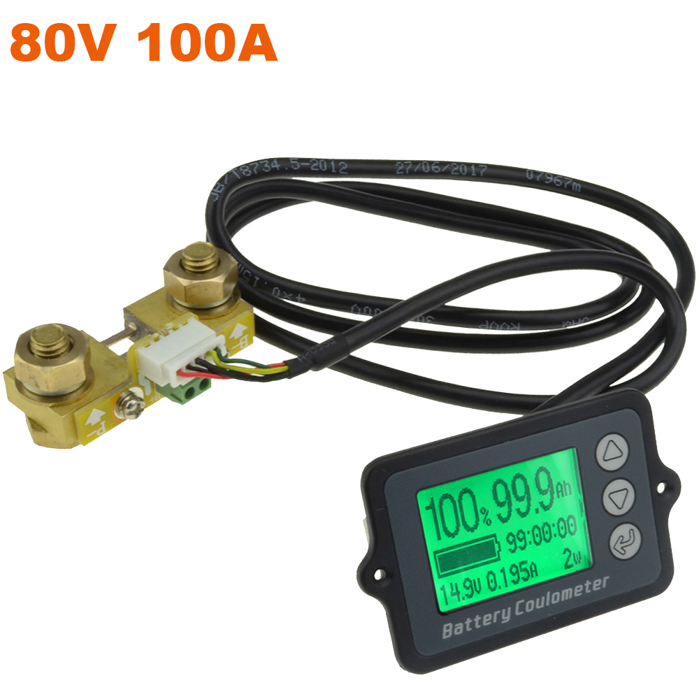 80V 100A New TK15 Professional Precision Battery Tester for LiFePO Coulomb Counter Free Shipping 12003194