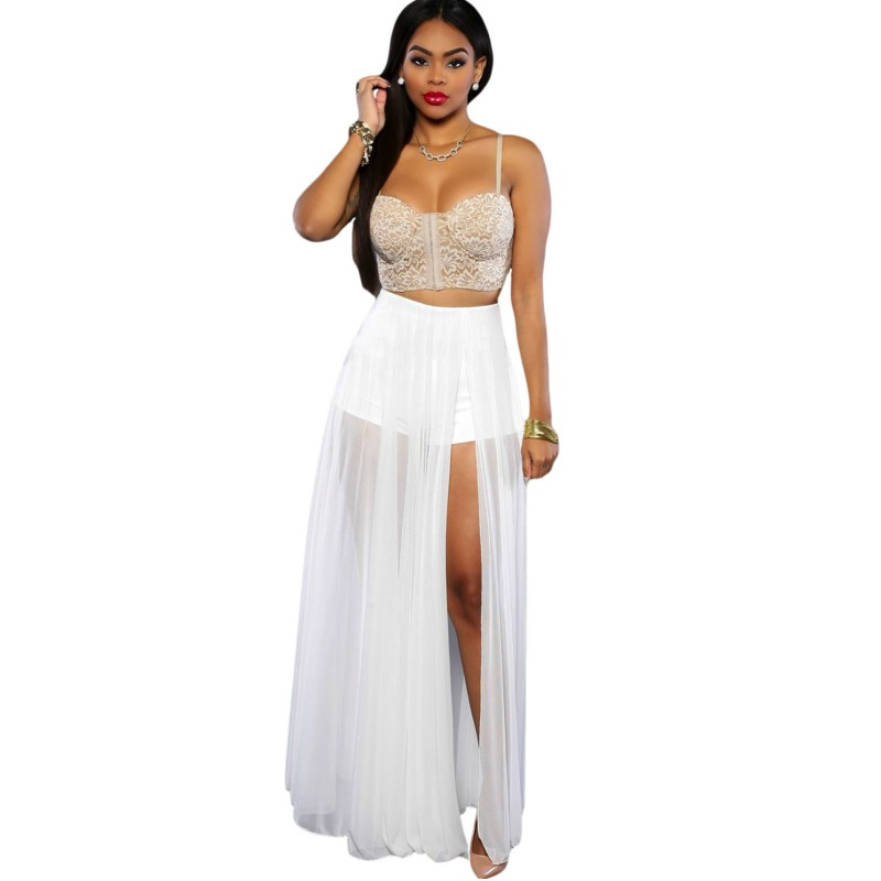 Online Get Cheap Sheer White Skirt -Aliexpress.com | Alibaba Group