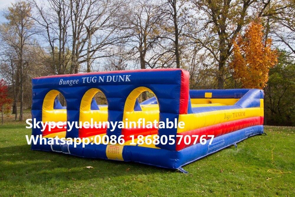 2018 glissières gonflables de vente directe d'usine, château gonflable. jeux gonflables, KYG-195 gonflables de compétition de rallye