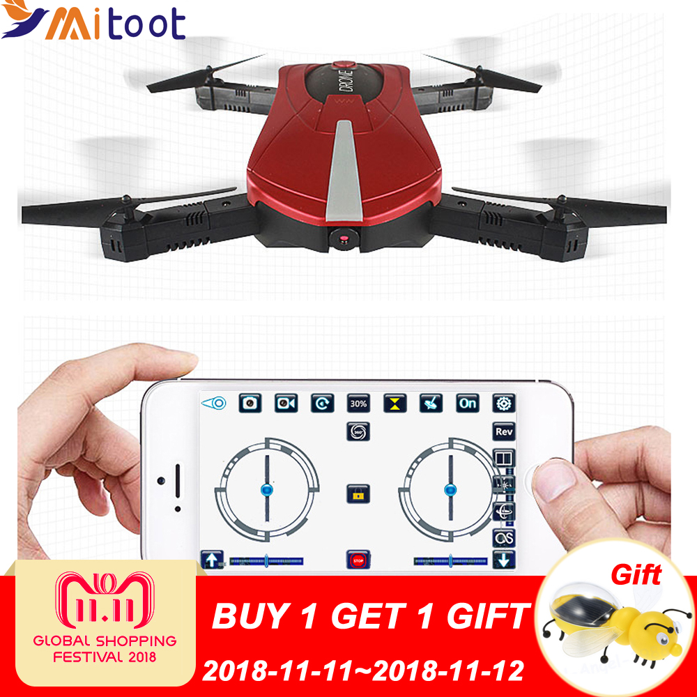 Rc Helicopter Foldable JD-18 Mini Drones With Camera Hd Quadrocopter Wifi Drone Professional Selfie Drone JY018 GW018 E52 eboyu 2 4ghz 4ch transmitter for jd 18tx jd 18 jy018 rc quadcopter foldable drone phone clip