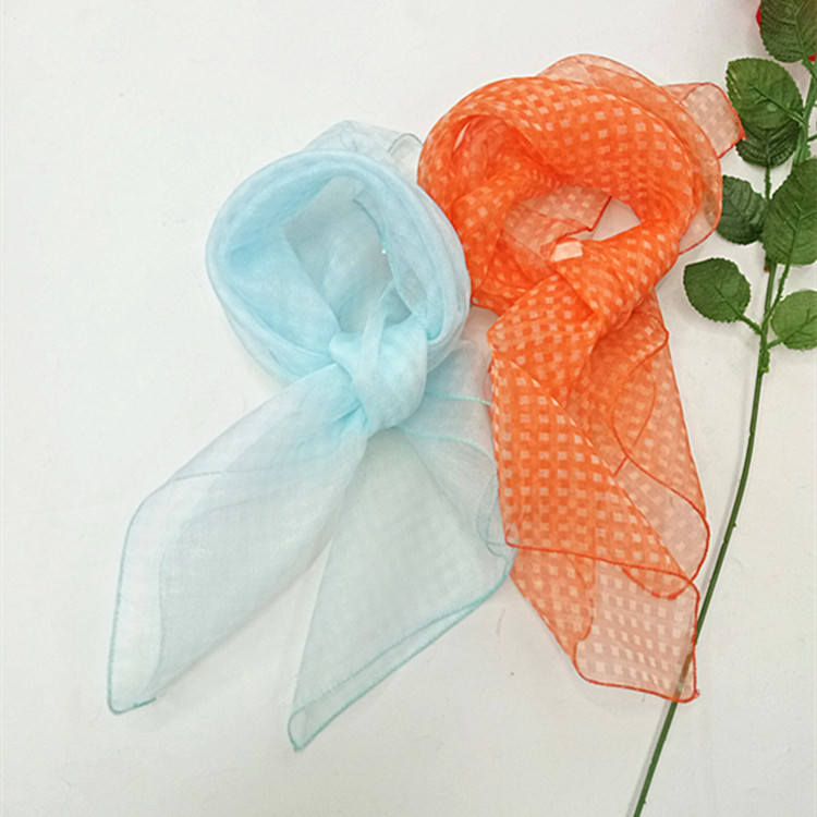 Women Scarf Beautiful Scarf Autumn Scarf Random Style Color 50*50cm