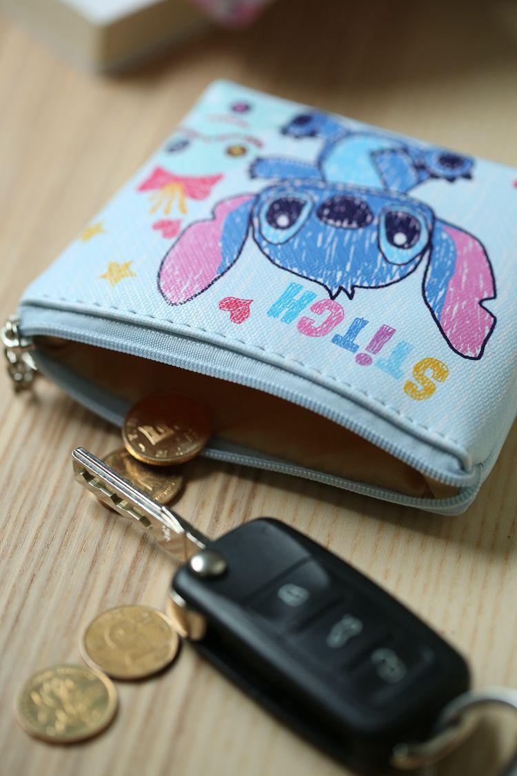 HTB1uYucNhjaK1RjSZFAq6zdLFXa0 Disney children cartoon purse Coin Mickey Mouse coin bag girl boy gift handbag storage key pendant bag kid packet wallet Frozen
