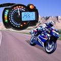 Абсолютно новый синий Универсальный мотоцикл ЖК цифровой спидометр одометр тахометр