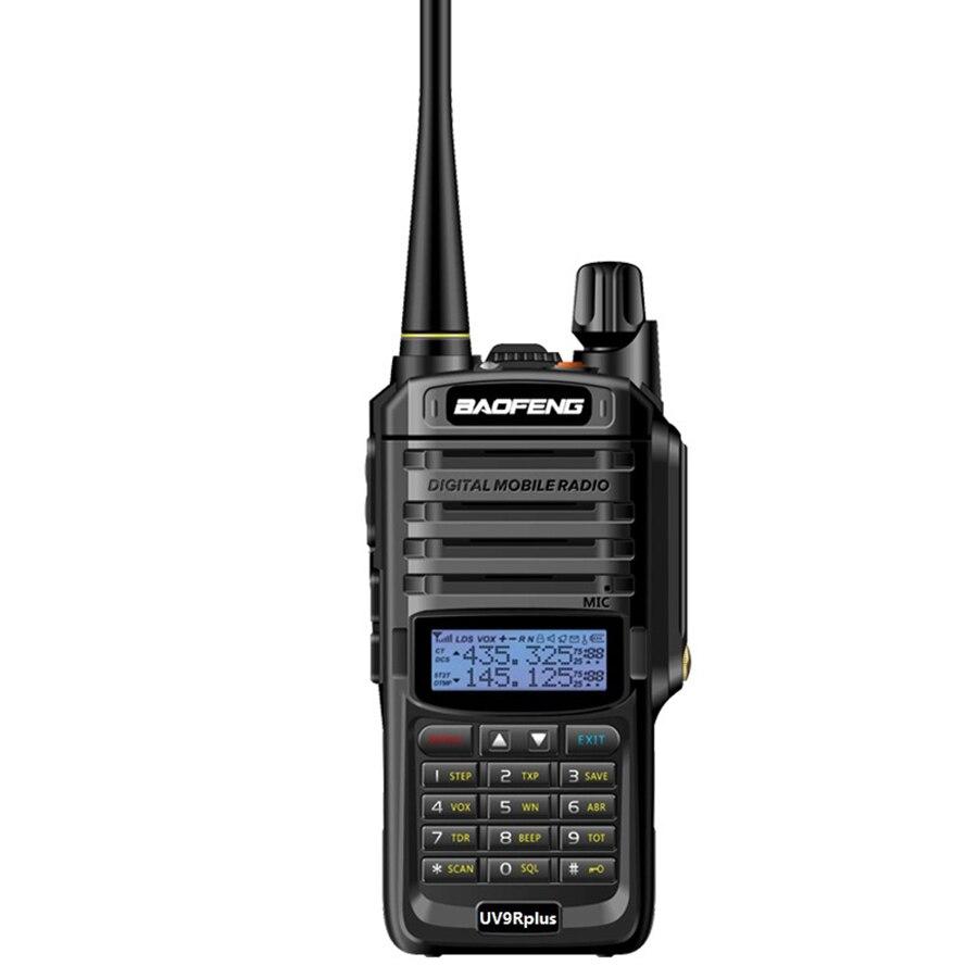 Baofeng UV-9R Plus Handheld Walkie Talkie 8W 2800mAh Dual Band IP67 Waterproof Two Way Radio hf Transceiver UV 9R camping (2)