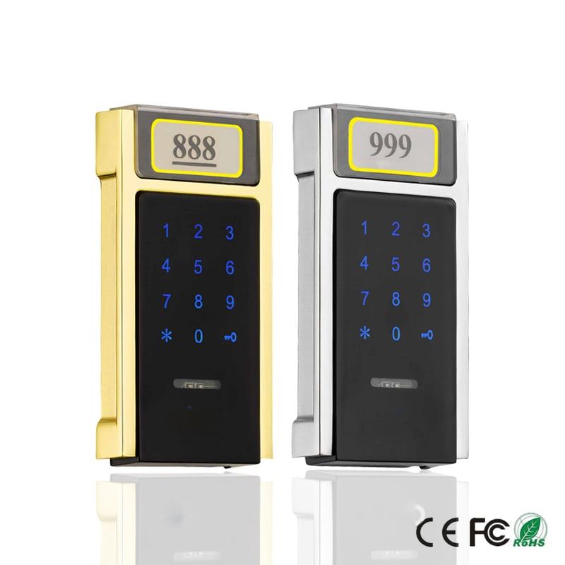 NEW Wireless keyless Touch Keypad Password RFID Card Key Metal Digital Electronic Sauna Cabinet locker lock
