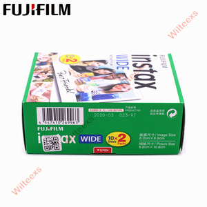 Image 3 - Brand New Fujifilm Instax Largo Film Plain Bordo Twin Pack (20 Foto) per Instant Photo Camera Instax 200 210 di Trasporto Libero