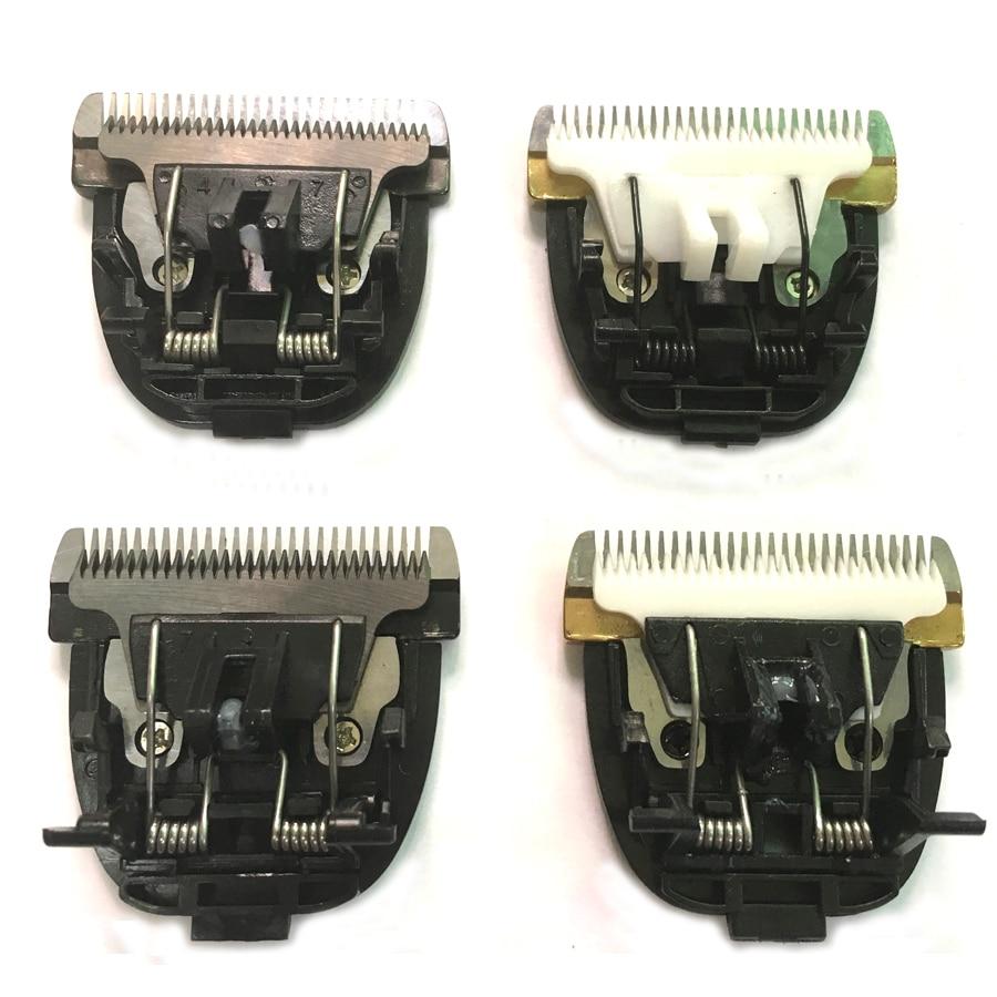 Knife Blade Trimmer Electric-Hair-Clipper Ceramic Titanium-Head White Black For 938x7