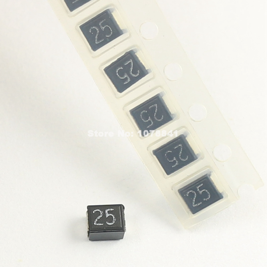 5Pcs KOA CCP SMD SMT 1210 2.5A 72V Micro Chip Fuse CCP2E25TE