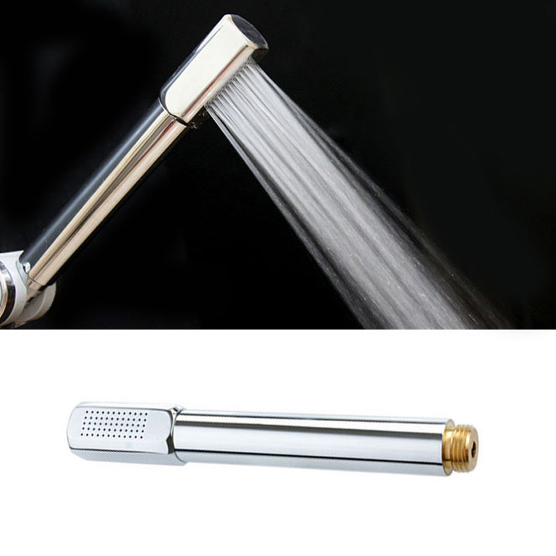 Pressurized Water Saving Shower Head ABS With Chrome Plated Bathroom Hand Shower Water Booster Showerhead  P