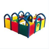 Детский сад линии открытая площадка, детский Крытый большие пластиковые Лабиринт, детские развивающие игрушки, парк развлечений объекта
