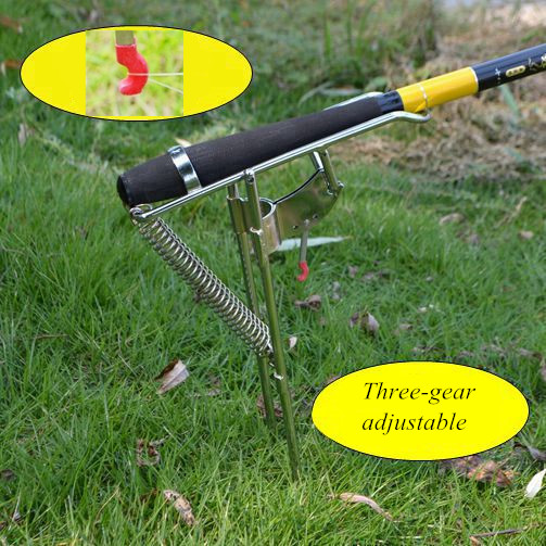 Popular spring pole buy cheap spring pole lots from china for Automatic fishing pole