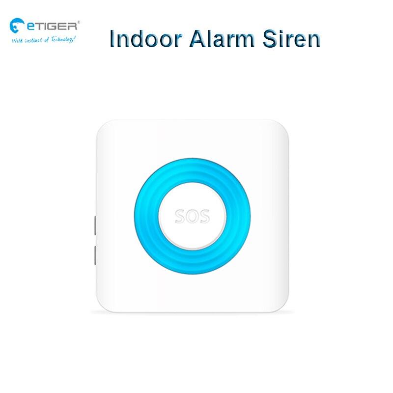 US $349 74 |WiFi App Wireless Outdoor Keypad Indoor Audible Alarm Siren  Door Window Open Intrude Detect Motion Smoke Sensor Security System-in  Alarm