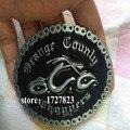 New Orange County Choppers Biker black Belt Buckle Men Gurtelschnalle Boucle de ceinture High Quality Cosplay Belt Buckle