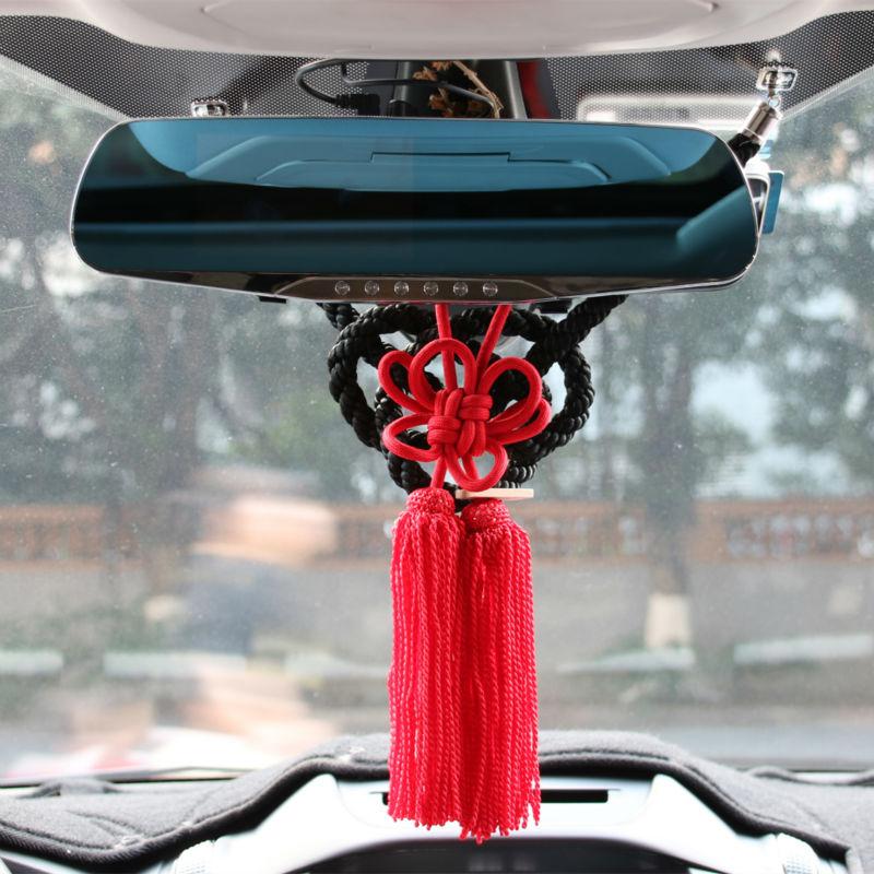 United Auto Group >> JP JUNCTION PRODUCE KIN TSUNA ROPE FUSA KIKU KNOTS FOR CAR REARVIEW MIRROR ORNAMENTS BLACK WHITE ...