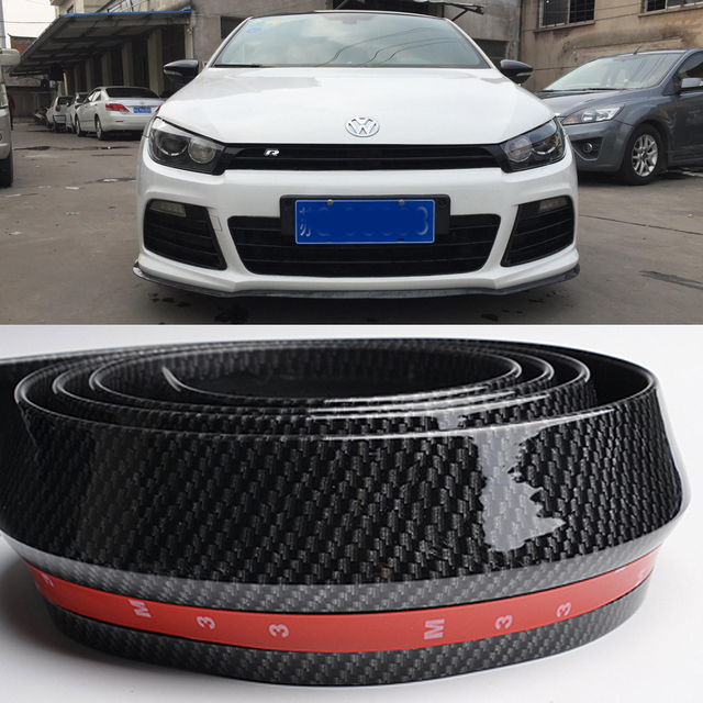 front bumper lip splitter protector body spoiler valance. Black Bedroom Furniture Sets. Home Design Ideas
