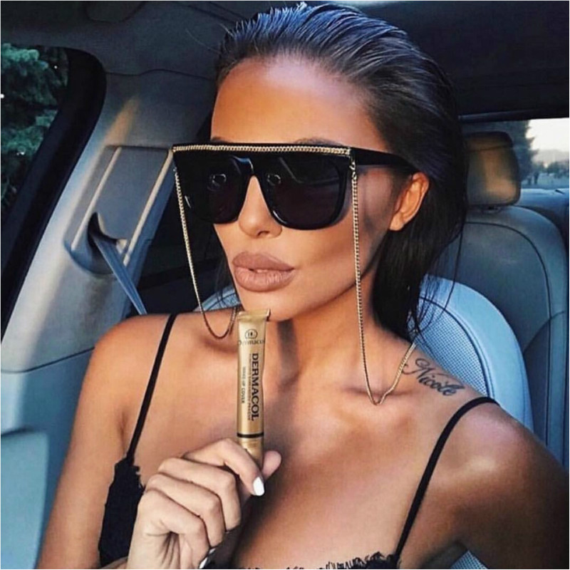 Sun glasses Chain holder For Women Fashion Vintage Sunglasses neck Chain Men Metal Eye glasses strap Landyard cordon para gafas in Eyewear Accessories from Apparel Accessories