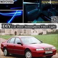 NOVOVISU For Rover 600 Series interior Ambient Light Atmosphere Fiber Optic Band Lights Inside Door Panel illumination Tuning