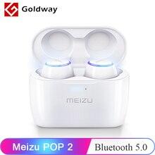 النسخة العالمية Meizu البوب 2 بلوتوث 5.0 سماعة TW50S سماعات لاسلكية IP5X في الأذن سماعة أذن رياضية سماعة ل 16th 16