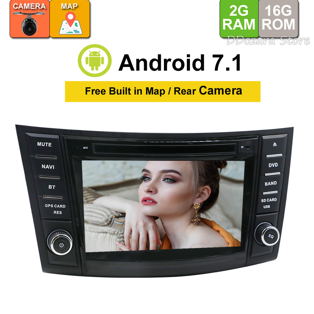 "7"" HD Android 7.1 Car DVD For Suzuki Swift 2011 2012 2013 2014 2015 Auto Radio RDS Stereo Audio Video GPS Navigation Backup Cam"