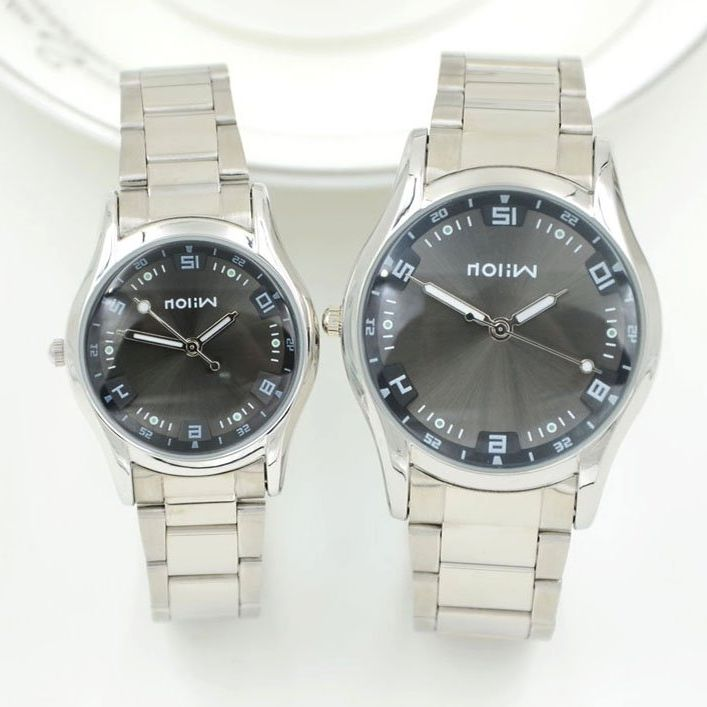 Модный бренд любителей смотреть в Корейском стиле Мужская мода Veyron кварцевые  Сталь женские часы 960 для отдыха для студентов Таблица 46808ea6f47