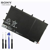 Original Sony LIS3096ERPC Battery For SONY Tablet Z SGP311 SGP312 SGP341 6000mAh