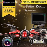 RC Toys Mini Gift SKY HAWKEYE 1315S Headless Mode 5 8G Real Time Transmission 4CH 2